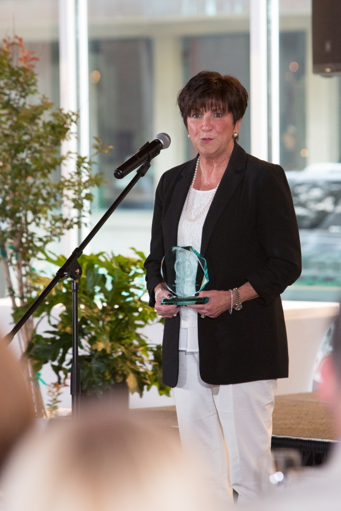 Margo Wehrenberg was named a Civitas Outstanding Employee. Photo courtesy of Beaufort Regional Chamber of Commerce.