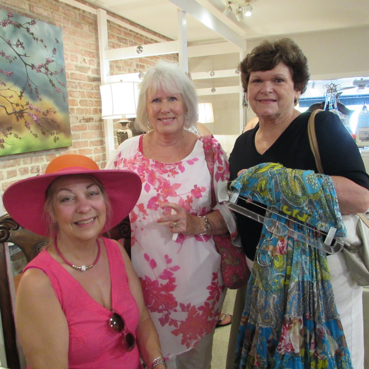 Katherine Nissen, Sherri Beecroft and Linda Willis
