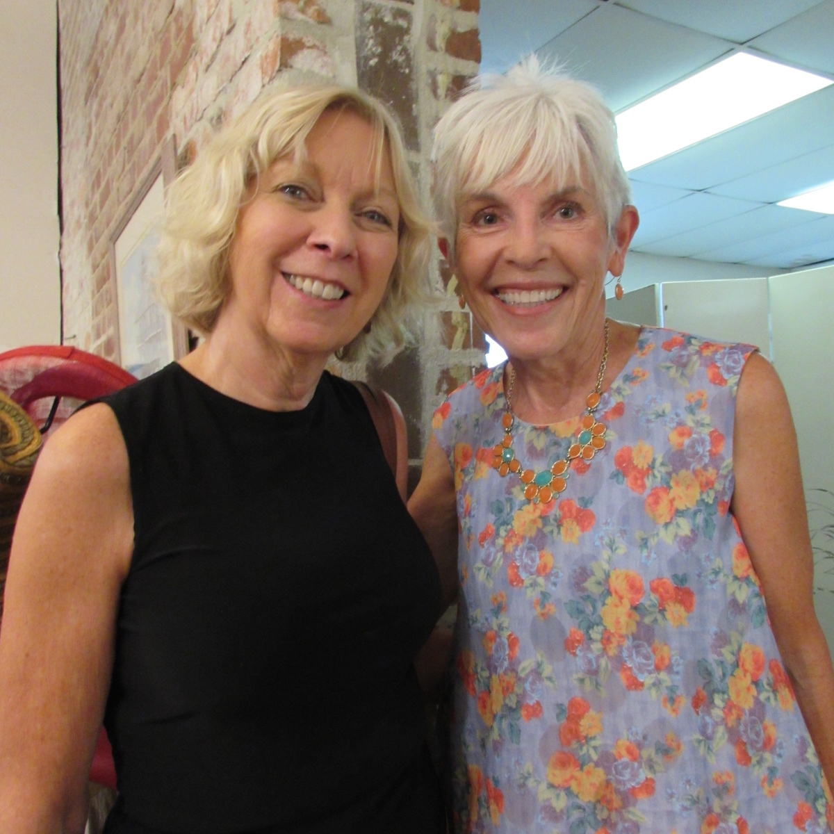 Mary Flynn and Edie Smith