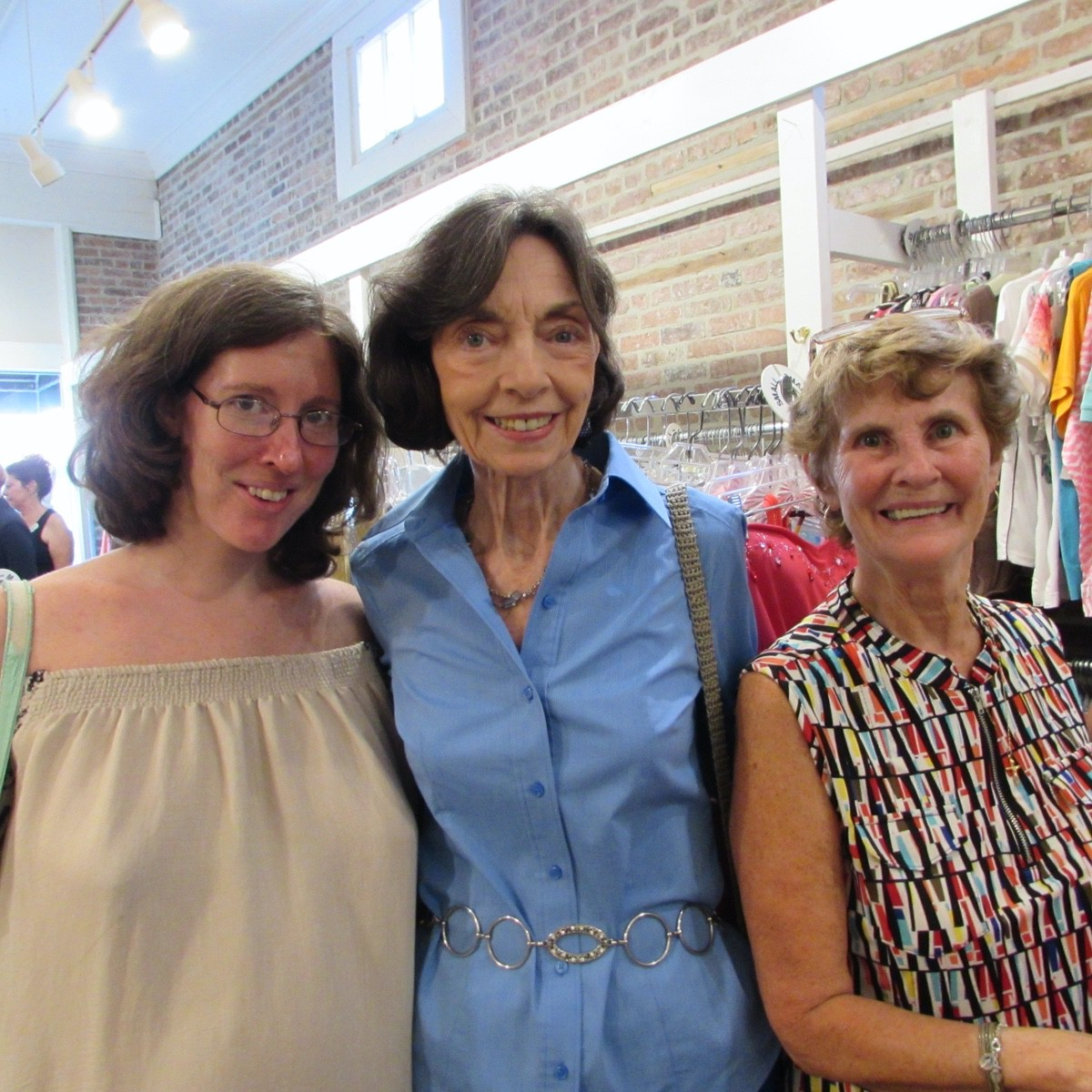 Taylor Bufkin, Jeanie Pickel and Catherine Hutchins