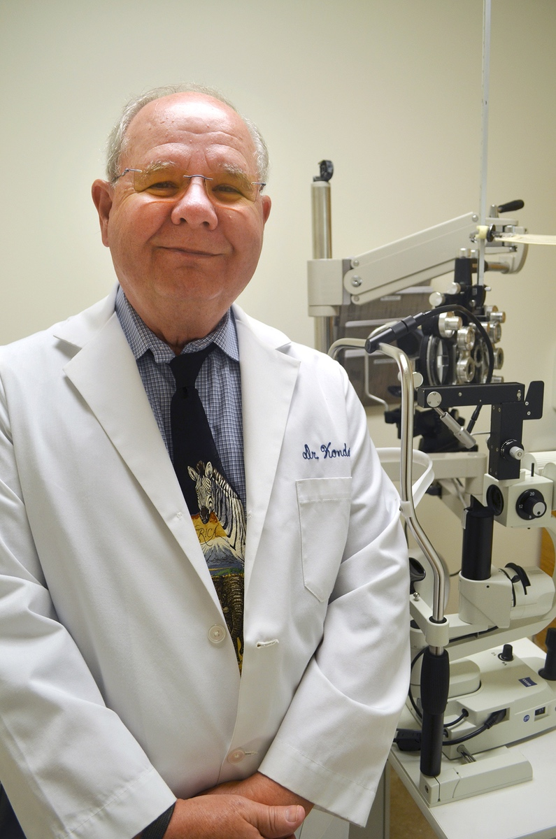 Dr. James Kondor, a Hilton Head-based optometrist, helped secure funding for equipment and also is volunteering his time to treat patients.