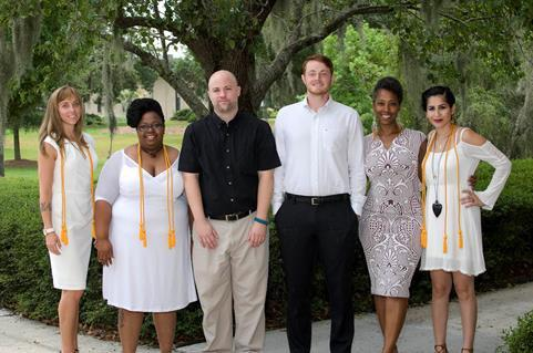 The TCL Massage Therapy graduates are Virginia Campbell, Caroline F. Coleman and Ashley N. Frasier, all of Beaufort; Joshua Gardner, of Hampton; Ashana Jones-Bell, of Charleston; and Jacob Morris and Brian J. Welty, both of Beaufort.
