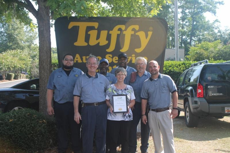 """Tuffy Auto Service has been named """"Tuffy of the Year."""""""