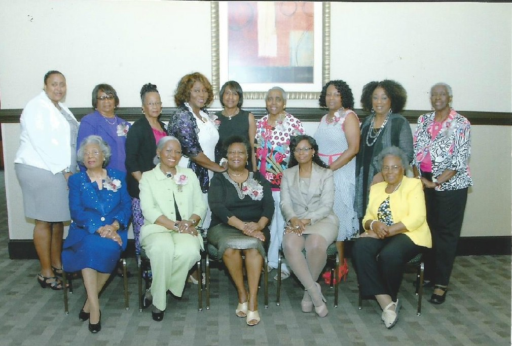 The Low Country Ladies of SC recently awarded scholarships to high school seniors from Beaufort, Hampton, Jasper and Colleton counties. Funds were raised through sponsors, community donations and an annual Scholarship Luncheon and Fashion Show. The Hubert and Jessie Tyler Charitable Fund and the Bargain Box of Hilton Head were among the generous donors. Seated from left are Etta Mann, Rosalind Hollis, Veronica Miller, Paula Gant and Celia Price. Standing are Kimberly Brown, Jessie Tyler, Esther Black, Eleanor Hazel, Sandra Walker, Vermelle Matthews, Cheryl Dopson, Marie Lewis and Ervena Faulker.