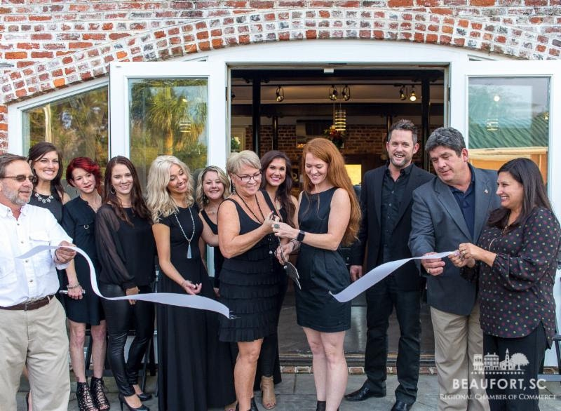 Emily Scott Pack Studio celebrated its grand opening Nov. 30 with a ribbon cutting ceremony in conjunction with celebrating its downstairs neighbor, Circa 1838's, one-year anniversary.