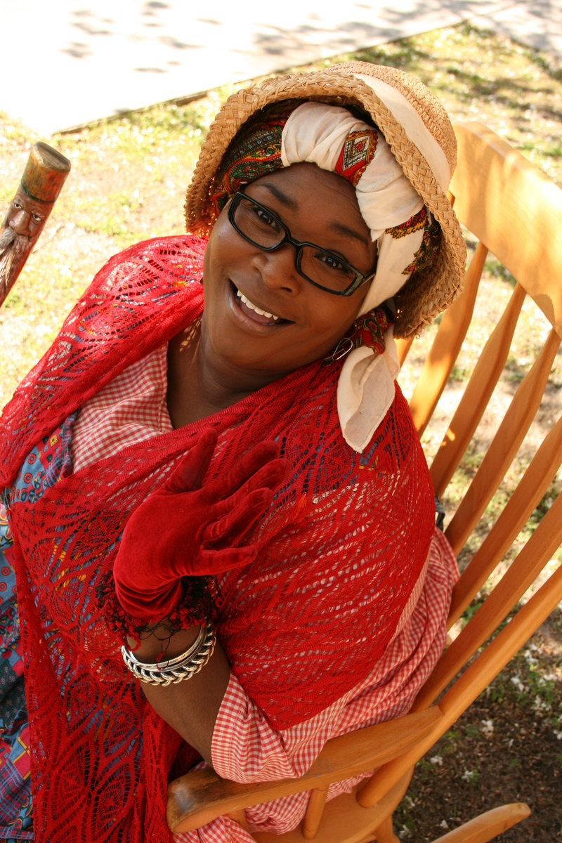 Aunt Pearlie Sue will weave Gullah tales at the living history program.