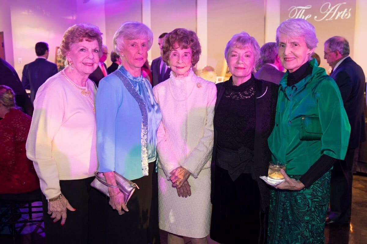 Edie Rodgers, Sue Collins, Joyce Gray, Shirley Credle, Judy Gabriel