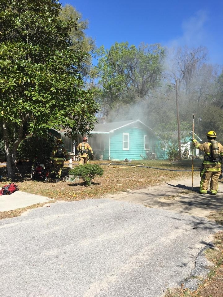 This home on Morrall Drive caused the resident of the home to be displaced.