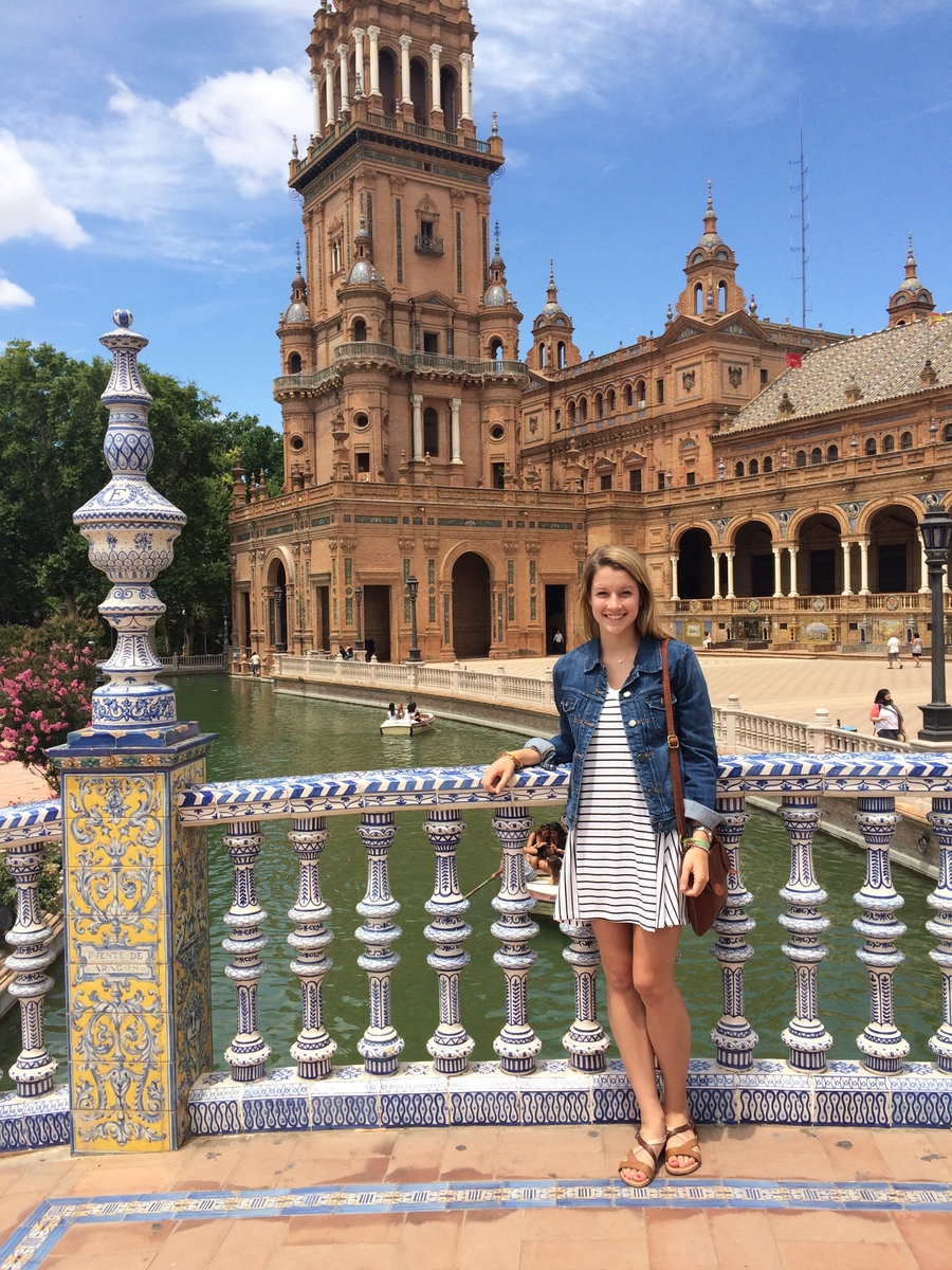 Elizabeth Rhodes visited Alhambra Palace in Granada, Spain, in May 2015. Photo provided.