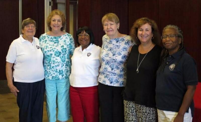 From left are, Ellen Newcomb, Emily Starry, Mander Givens, Judi Gracia, Brenda Grossberg and Alber Barnette. Photo provided.