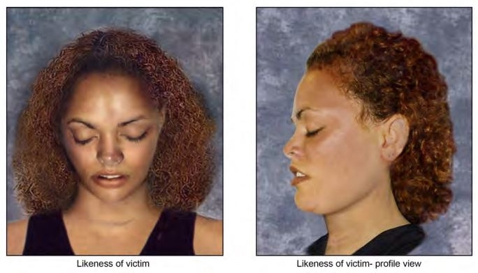 This likeness was developed to help identify a woman found murdered in Yemasee.
