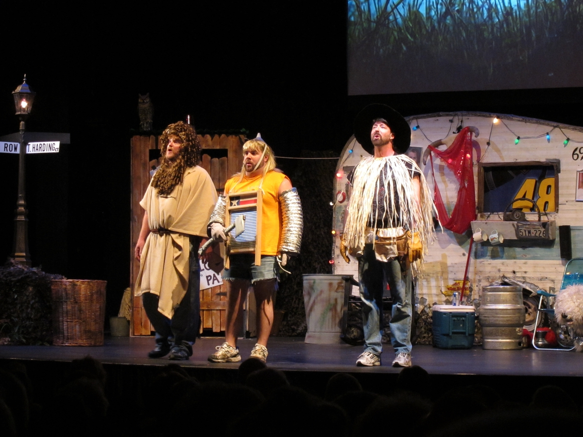 """Back by popular demand, the Center for the Arts will showcase The Three Redneck Tenors with their popular """"Christmas Spec tac-YULE-ar"""" on Saturday, Dec. 9, and Sunday, Dec. 10. Photo provided."""