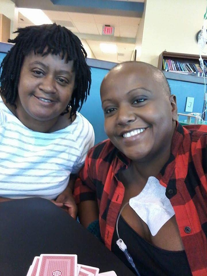 Alicia Wynn's mother went to her daughter's oncology appointments. Photo provided.