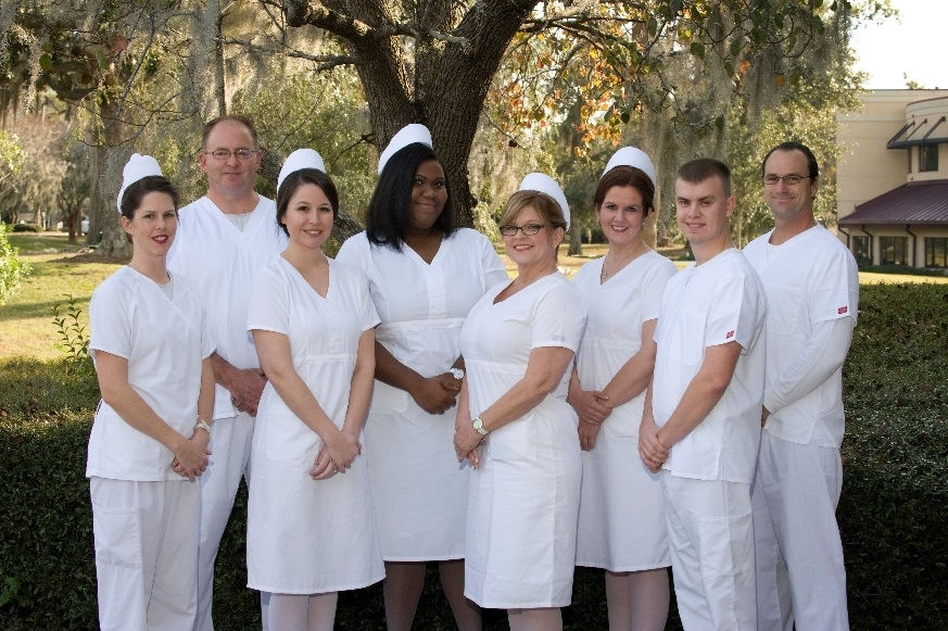 The TCL nursing graduates are Brittany Cava, Joseph Dimaria, Antoinette Elliott, Richard Free II, Daniel Henry, Tonja Kraft, Erin Rodnicki and Jessica Rooney.