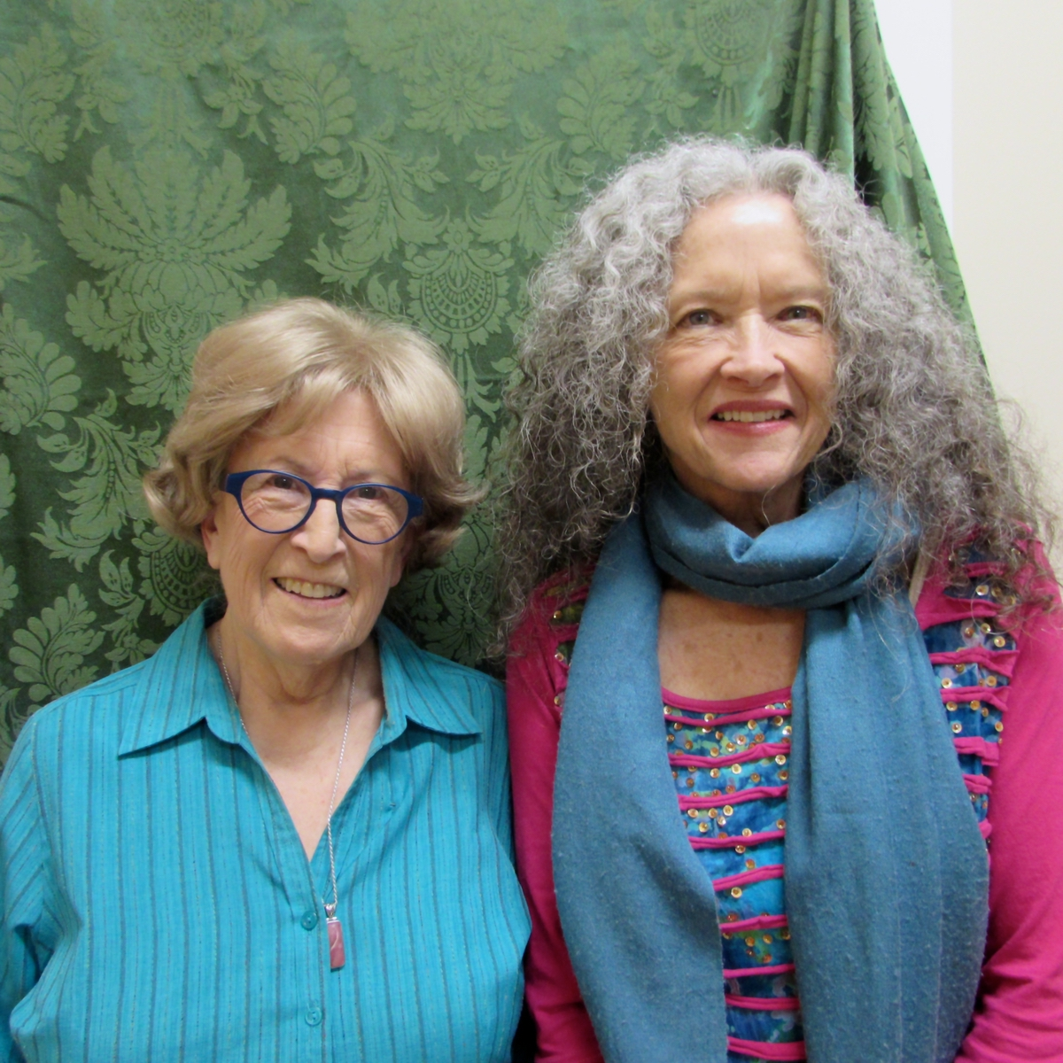 TZiPi Radonsky, left, and Suzanne Larson are friends, and the pair behind the local production of Becoming Dr. Ruth.